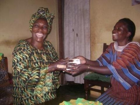 photo of Naddima Nnalongo & Teo Mukasa Abateesa Group