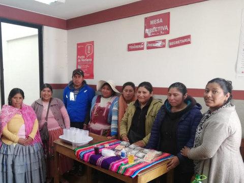 photo of Las Bartolinas Group
