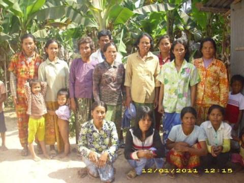 photo of Mrs. Sinat Auk Village Bank Group