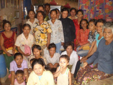 photo of Mrs. Neang Un Village Bank Group