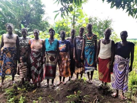 photo of Fatmata's Master Farmers Group