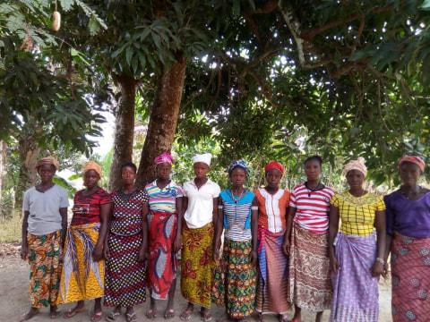 photo of Iye's Female Farmers Group