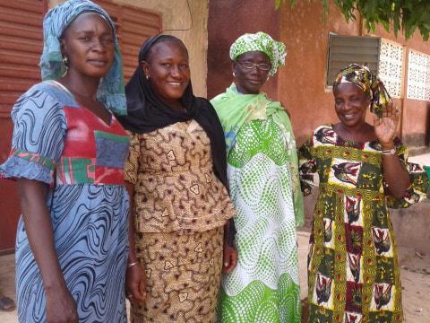 photo of Maimouna's Group