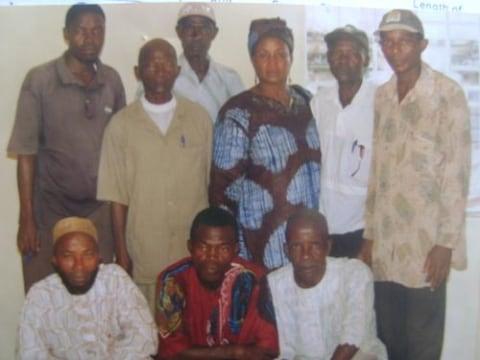 photo of Joseph Abu's Group