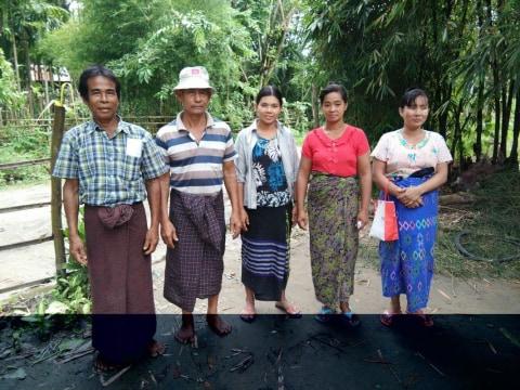 photo of Taung Kone (A, B) Village Group