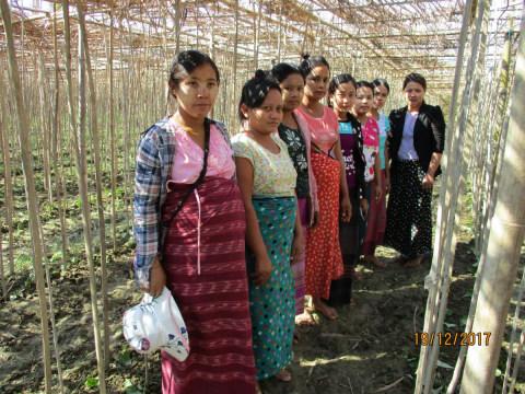photo of Khin Thidar's Group