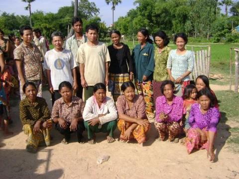 photo of Mr. Yong Paen Village Bank Group