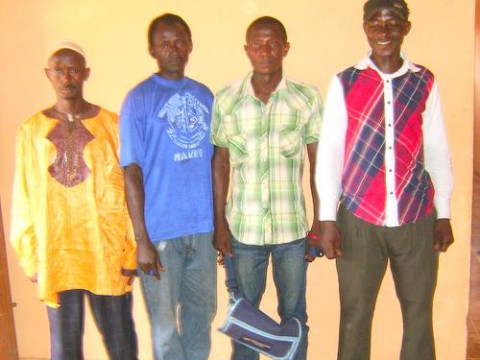 photo of Foday B's Group