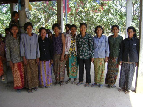 photo of Mrs. Rom Mul Village Bank Group