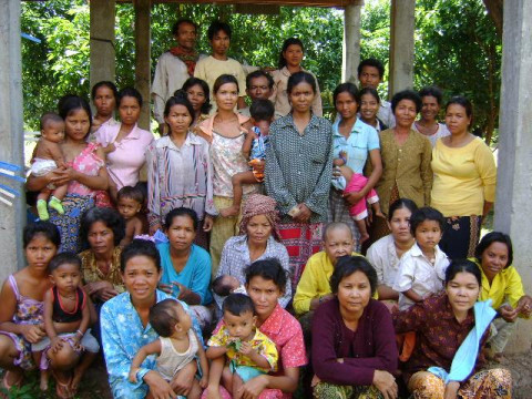 photo of Mrs. Phorn Lai's Village Bank Group