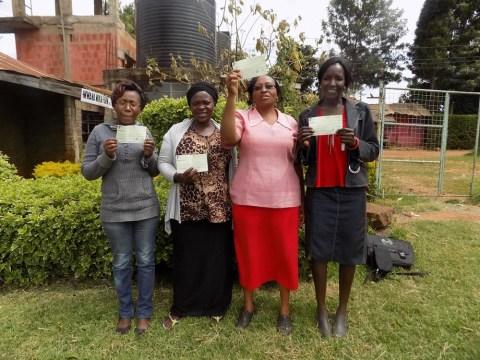photo of Mwihangiri Self Help Group