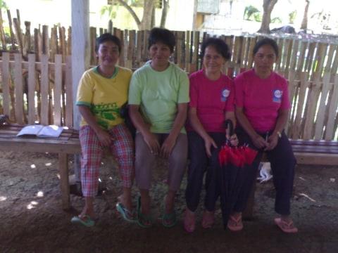 photo of Teofila Bernido Group