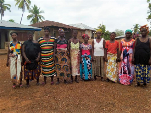 photo of Fatu's Female Farmers Group