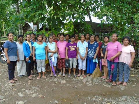photo of Ctr 160 Camang Camang Women's Association Group
