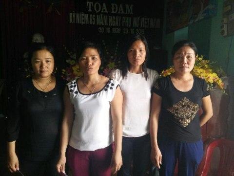 photo of Huệ's Group