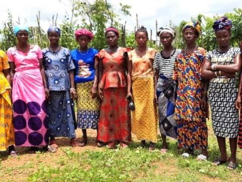 photo of Maha's Female Farmers Group
