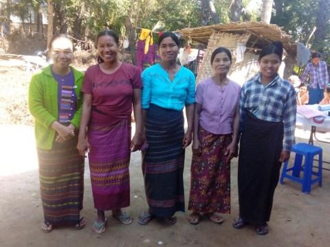 photo of Nyaung Pin(1)A Village Group