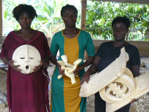 photo of Adom Wood Carvers Group