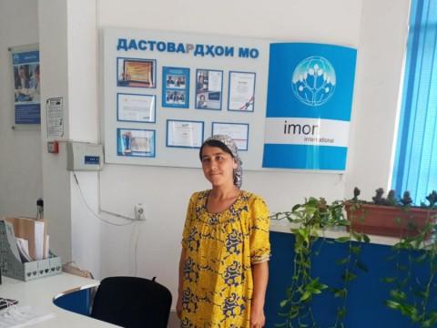 photo of Sharofatjon