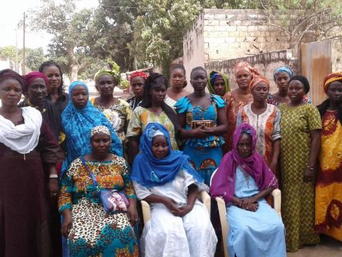 photo of Diabou's Group