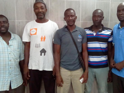 photo of Moussa Laye's Group