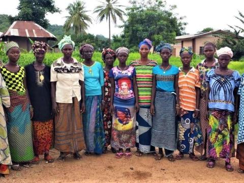 photo of Forah's Female Farmers Group