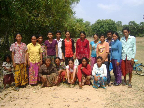 photo of Mrs. Tuy Village Bank Group