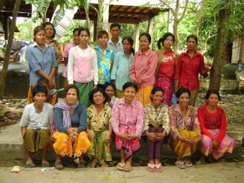 photo of Mrs. Chanthol Kun Village Bank Group