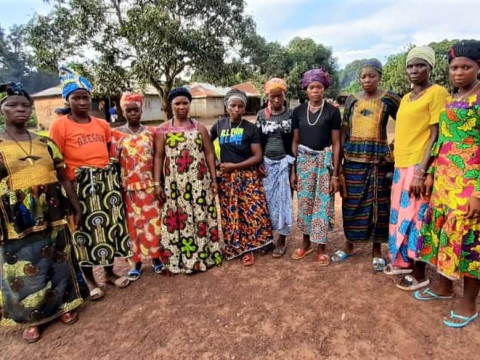 photo of Sallay's Female Farmers Group