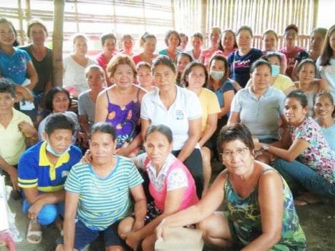 photo of Center 87 Camp Clark Women's Association Group