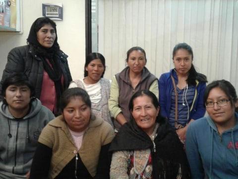 photo of Las Soñadoras Group