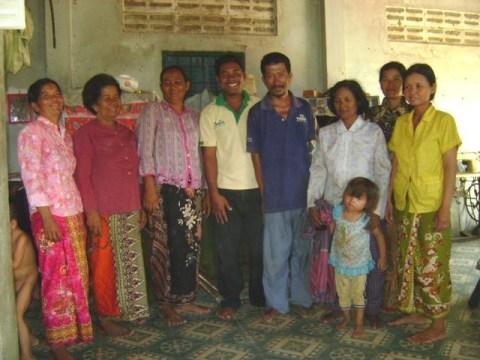photo of Mrs. Sophal Pang Village Bank Group