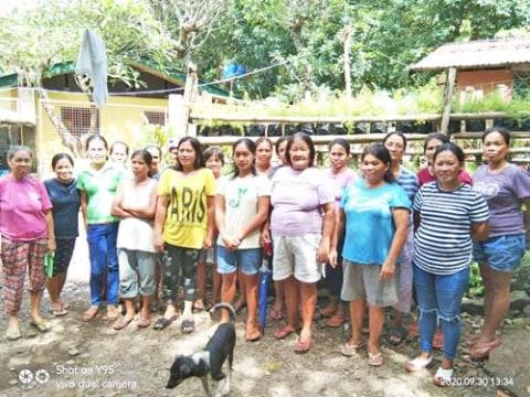 photo of Ctr 25 Maytubig Women's Association Group