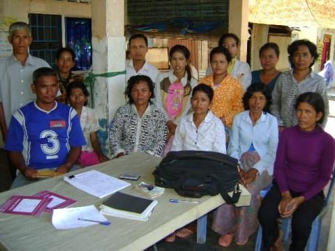 photo of Mrs. Sokoeun Sam Village Bank Group