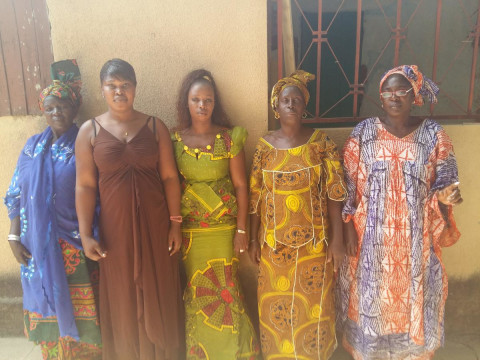 photo of Mame Penda's Group