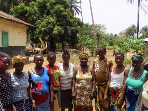 photo of Nancy K's Women Farmers Group
