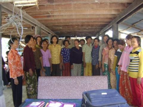 photo of Mrs. Leng Dul Village Bank Group