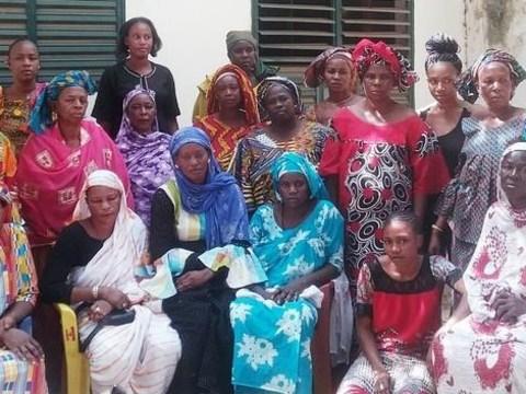 photo of Salimata's Group
