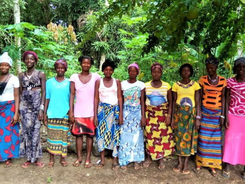 photo of Aminata K's Female Farmers Group