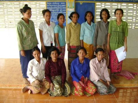 photo of Mrs. Dany Prak Village Bank Group