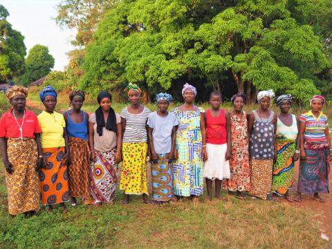 photo of Sallay's Best Female Farmers Group