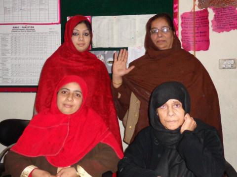 photo of Mussarat's Group