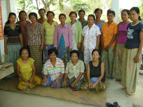 photo of Mrs. Kimly San Village Bank Group