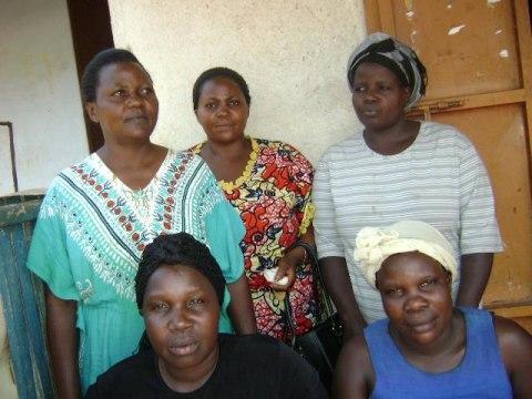 photo of Allen Wanyana's Group