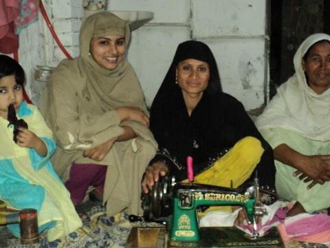 photo of Hasina's Group