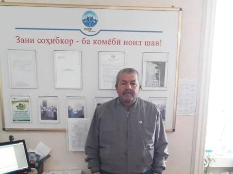 photo of Makhmadkul