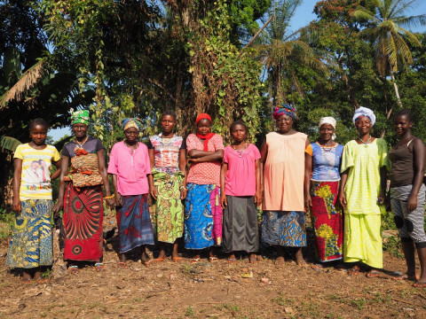 photo of Mabinti's Female Farmers Group