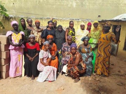 photo of Fatou Bintou's Group