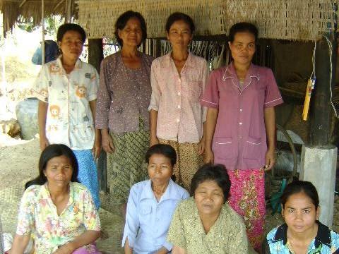 photo of Mrs. Mey Sokhom Village Bank Group