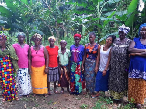 photo of United Women Farmers Group